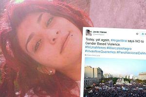 Czarna Środa w Argentynie. Tysiące kobiet protestują po brutalnym gwałcie i zabójstwie 16-latki