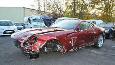 Rozbite Ferrari za... 5 mln euro