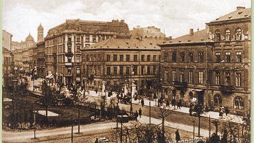 Pl. Warecki, dziś Powstańców Warszawy