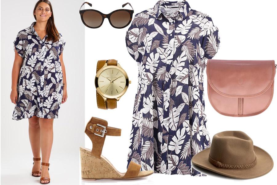 288751486f Letnia sukienka dla puszystej - podpowiadamy jaką wybrać  moda plus ...