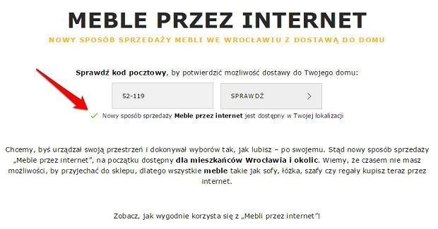 Meble przez internet - Ikea