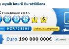 Portugalia: kupi� los za 2,5 euro, wygra� 190 mln. Niemal rekordowa wygrana w loterii