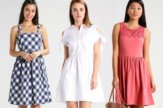 Rozkloszowane sukienki: 30 modeli idealnych na co dzień