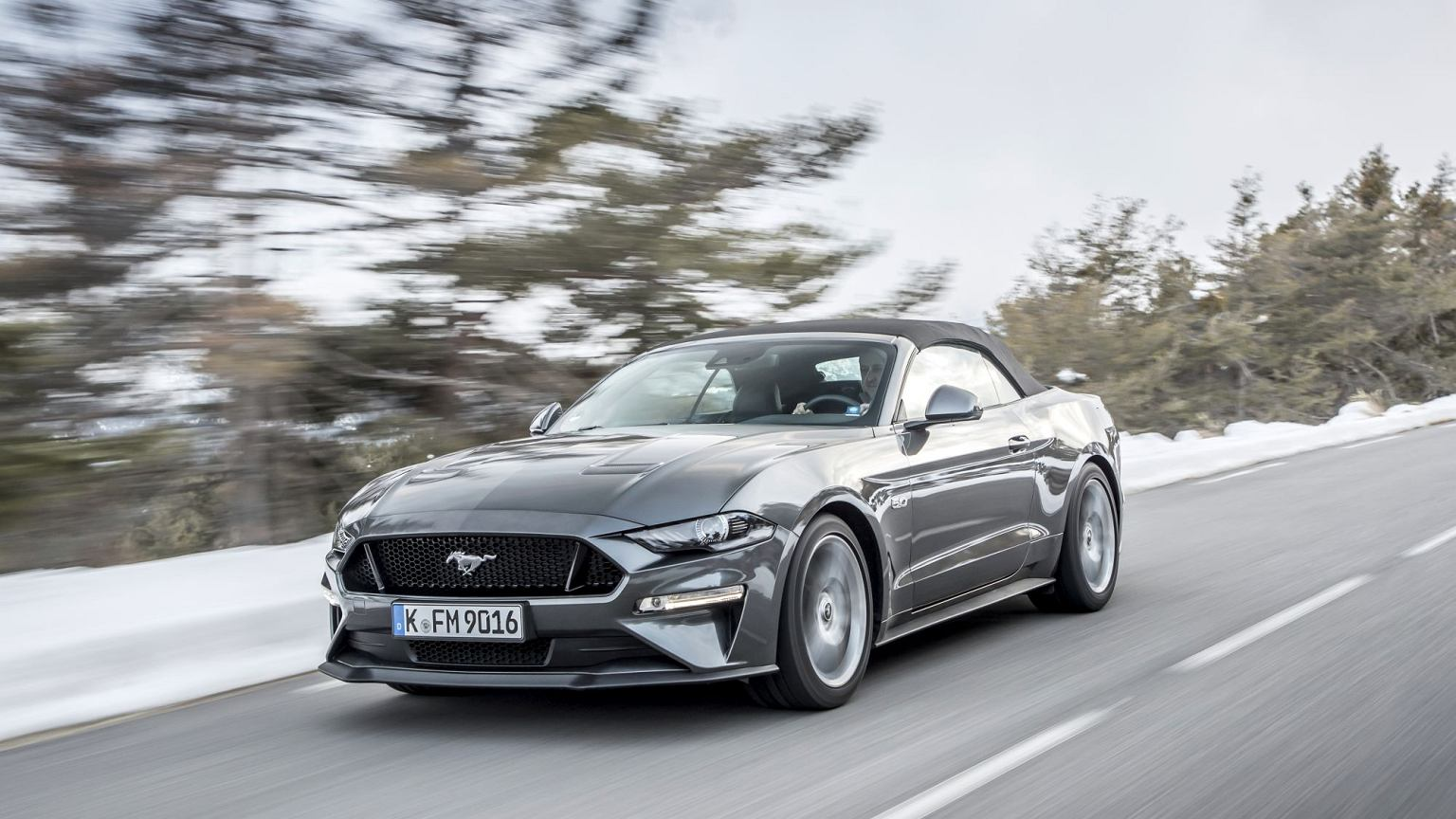The new ford mustang 2018 driving experience