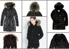 16 grubych i ciep�ych p�aszczy w czarnym kolorze na mro�n� zim�