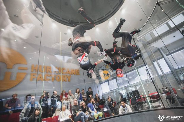 Zdjęcie numer 2 w galerii - Medale Polaków w I mistrzostwach świata w Indoor Skydivingu
