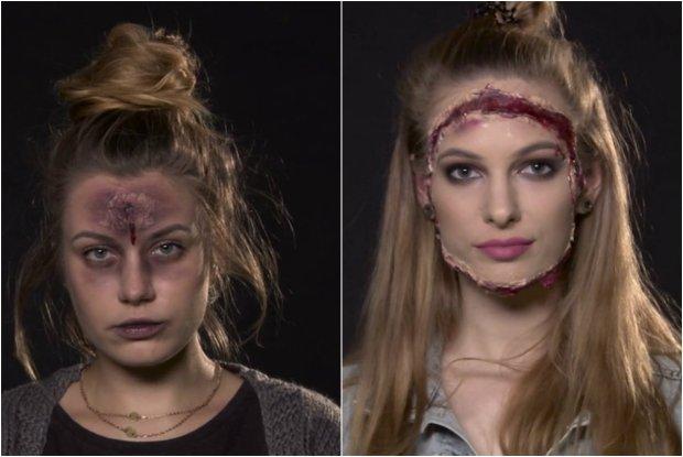 Makija� na Halloween: Zobacz, jak domowymi sposobami wykona� dwa krwawe wiza�e. To proste! [PORADNIK]