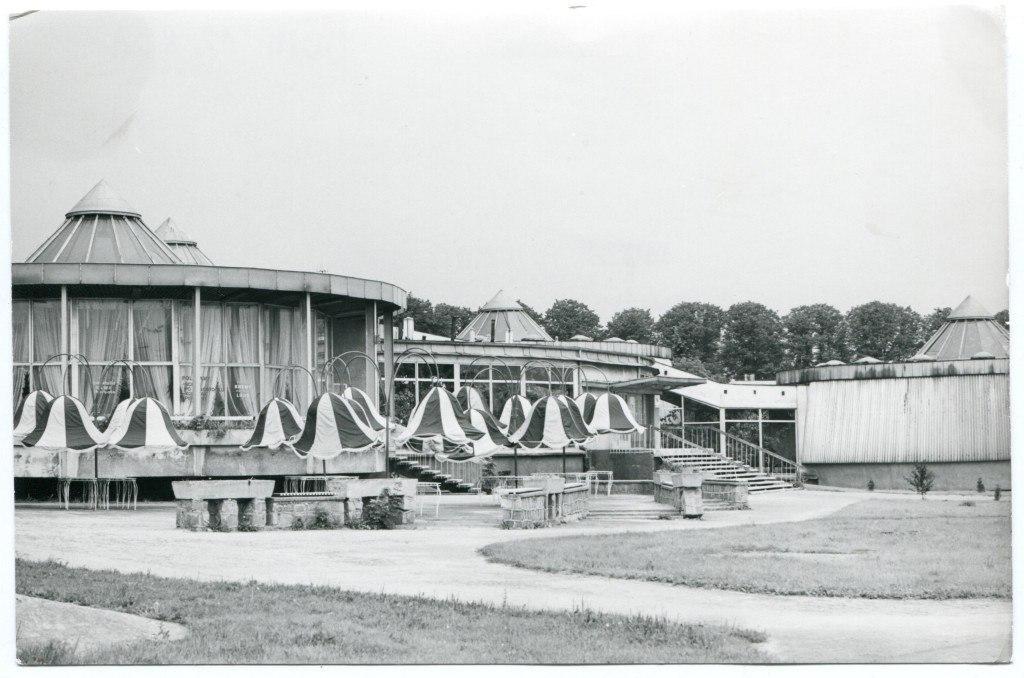 Białystok. Spodki około 1983 roku (fot. Andrzej Ciulkin / ze zbiorów Muzeum Podlaskiego w Białymstoku)