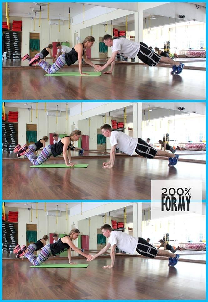 Asia i Marek z 200% Formy. Ćwiczenia uzupełniające, trening funkcjonalny, stabilizacja - brzmi jak kara? Nie z nimi!