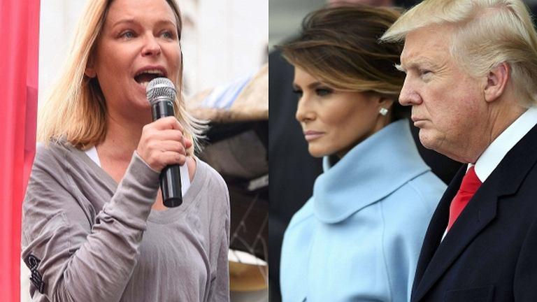 Paulina Młynarska, Melania Trump i Donald Trump