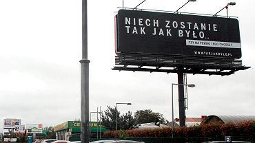 Billboard przy Al . Krakowskiej