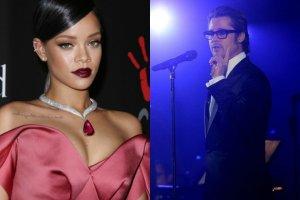Rihanna, Brad Pitt