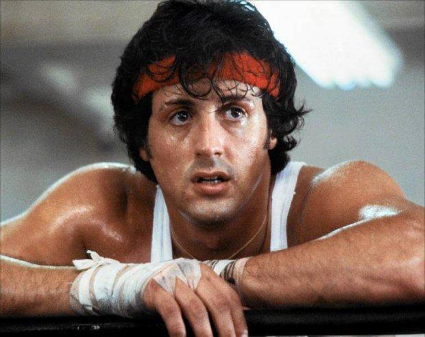 Sylvester Stallone jako Rocky Balboa