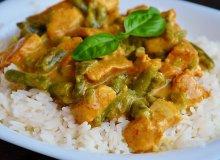 Curry z kurczakiem i fasolką szparagową - ugotuj