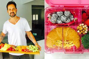 Chciał pomóc żonie, więc zaczął pakować córeczkom śniadania. Teraz zachwyca się nimi cały świat [ZDJĘCIA]