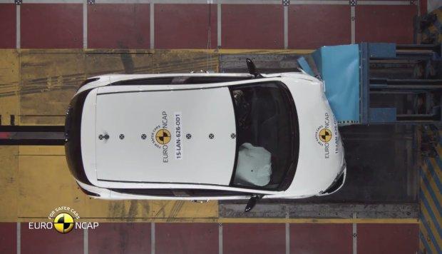 Lancia Ypsilon testy Euro NCAP