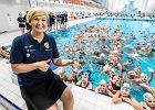 Otylia Jędrzejczak zachęca do pływania: To dla każdego jest zdrowe