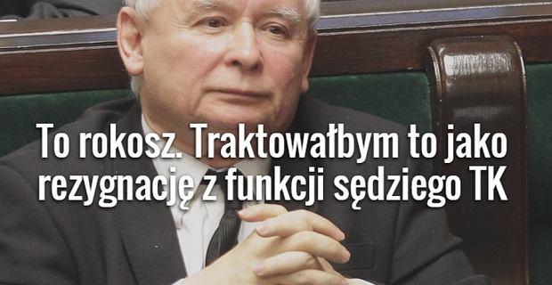 Jaros�aw Kaczy�ski o prof. Rzepli�skim