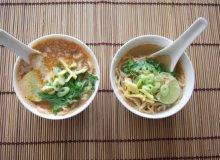 Rozgrzewająca zupa z pancerzyków krewetek - ugotuj