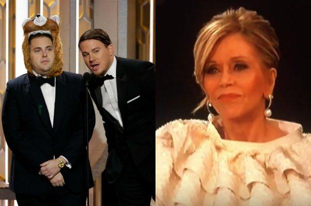 Jonah Hill, Channing Tatum, Jane Fonda
