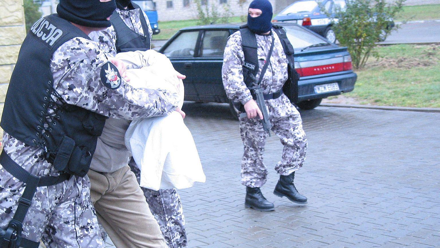Radom, 2004. Policjanci zatrzymali członka gangu mającego na koncie porwania, rozboje i handel narkotykami