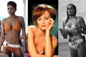 Ursula Andress, Izabella Scorupco, Halle Berry.