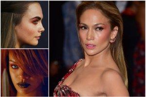 3 sposoby na wykorzystanie czerwonego cienia do oczu. Zobacz, jak robi to J.Lo, Cara i Rihanna!