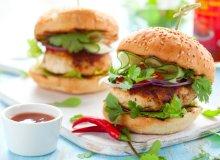 Pikantne burgery drobiowe - ugotuj