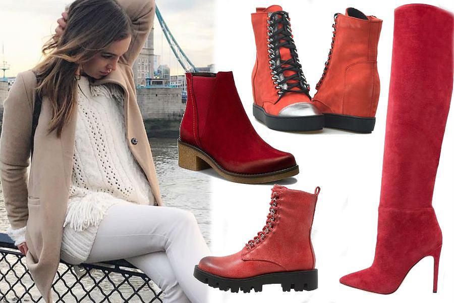 79ff7907d29b1 Czerwone buty nie tylko na imprezę! Te modele idealnie sprawdzą się zimą.  Wiele znalazłyśmy na wyprzedaży!