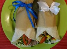 Tortilla z polędwiczkami wieprzowymi i warzywami - ugotuj