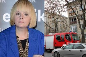 Sp�on�o mieszkanie Karoliny Korwin Piotrowskiej. W po�arze zgin�y zwierz�ta dziennikarki