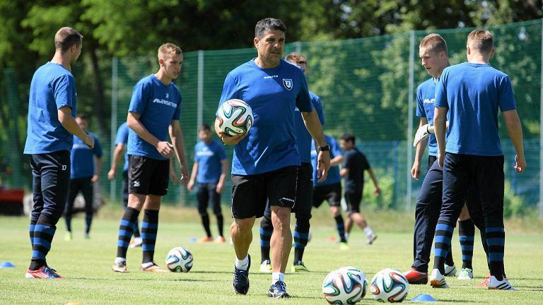 Pierwszy trening piłkarzy Zawiszy pod wodzą Jorge Paixao