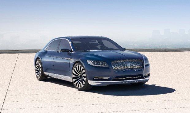 Salon Nowy Jork 2015 | Lincoln Continental Concept | Nowy rozdzia�
