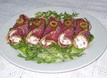 Roladki z salami - ugotuj