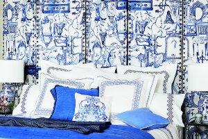 Trend: bia�o-niebieskie wzory