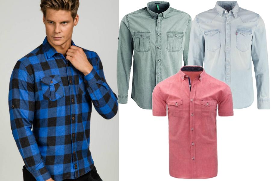 f12a2e9ba2d161 Koszule męskie na lato. Te eleganckie i bardziej na luzie