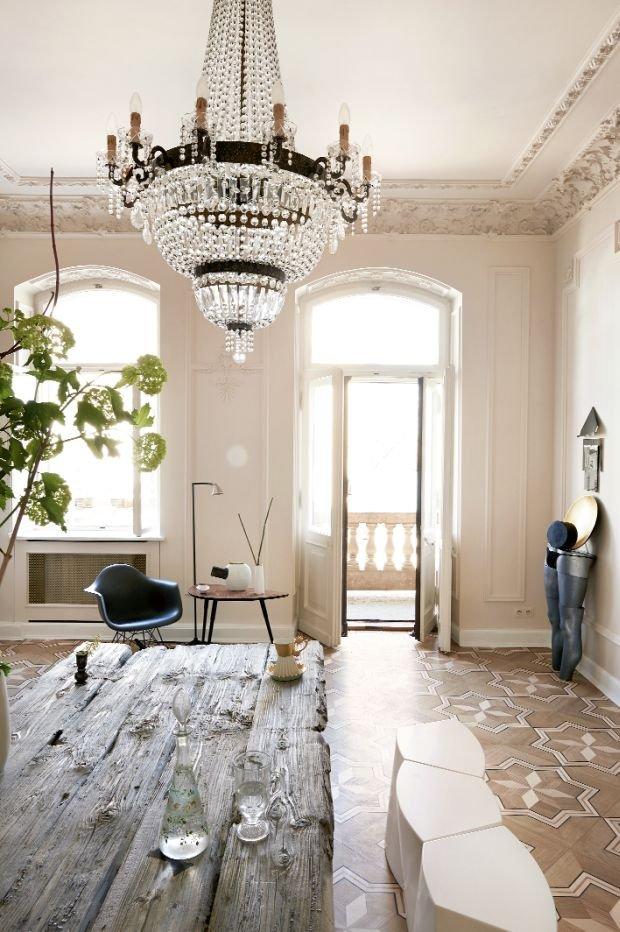 Zdjęcie numer 5 w galerii - Wnętrza: mieszkanie w warszawskiej kamienicy