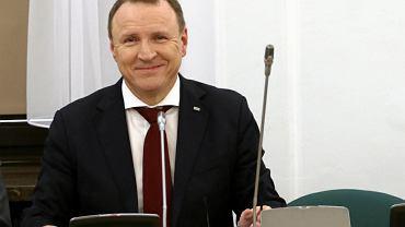 Jacek Kurski podczas posiedzenia Sejmowej Komisji Kultury i Środków Przekazu na temat TVP Info