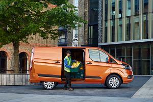 Ford Transit Custom. Od teraz ostrzejszy wygląd, technologia i oszczędne silniki