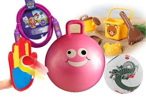 Zabawki na dwór