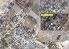 Izrael bombarduje Stref� Gazy - s� zabici. ONZ na zdj�ciach satelitarnych pokazuje skal� zniszcze� [FOTO]