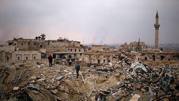 Aleppo. Trwają próby ewakuacji zniszczonego miasta