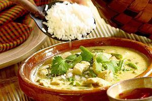 Kurczak w zielonym curry