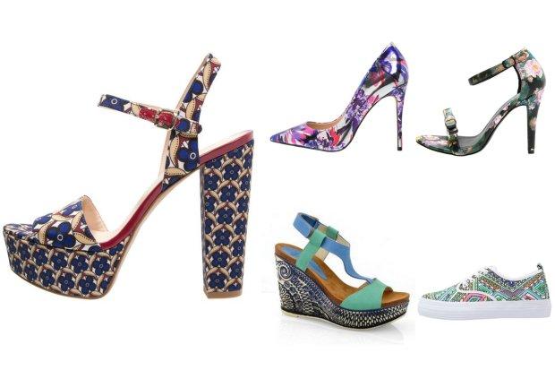 fd1c5789b1f7f Wzorzyste buty - najpiękniejsze modele sezonu