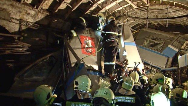 Po wypadku moskiewskiego metra: dwóch pracowników zatrzymanych przez policję