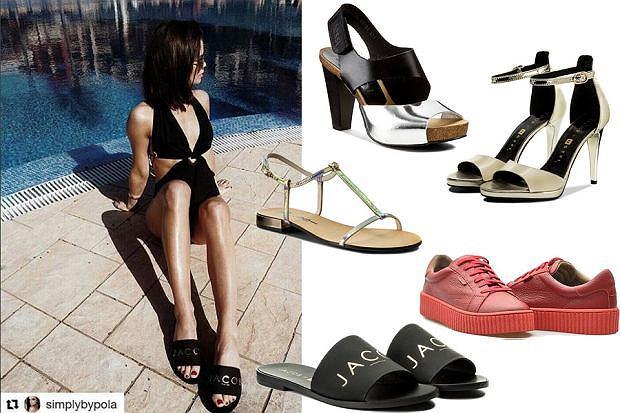Kolaż, buty na lato/Materiały partnera