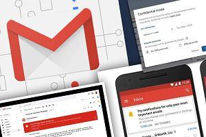 Korzystasz z Gmaila? Koniecznie zainstaluj nową aplikację. Teraz wyślesz poufnego e-maila