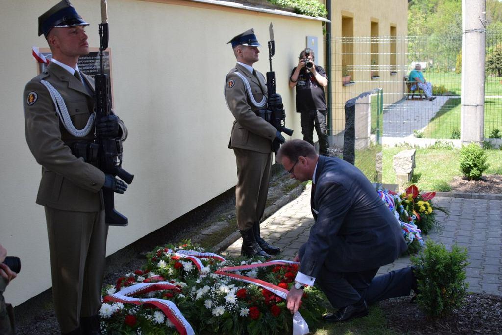 W Holiszowie niedaleko Pilzna w Czechach została odsłonięta tablica upamiętniająca Brygadę Świętokrzyską NSZ