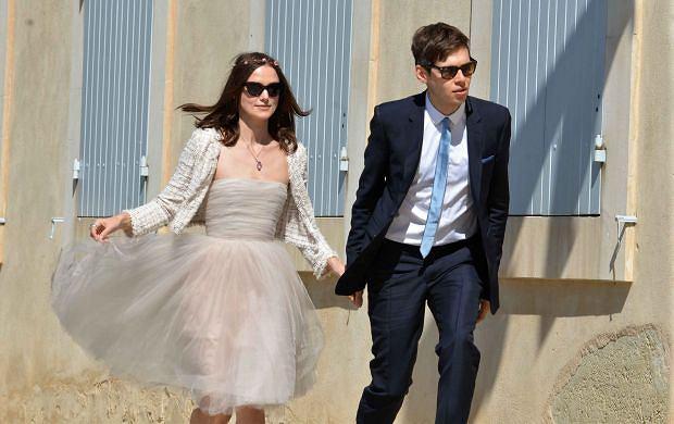 Keira Knightley założyła starą sukienkę? Jak wyglądał ŚLUB aktorki?
