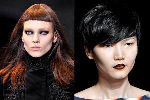 Fryzury dla ciemnych w�os�w na jesie� 2012